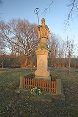 Sloup se sochou svatého Gotharda
