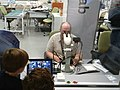 Smithsonian FossiLab at the National Museum of Natural History with fossil preparators being observed by museum visitors - IMG 20190728 153249.jpg