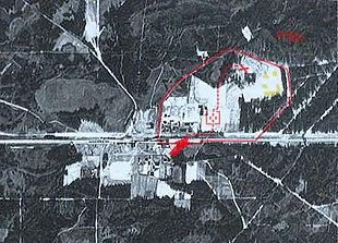 Sobibor aerial photo (1942-1943)