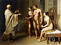 Socrates reproaching Alcibiades, Anton Petter.jpg
