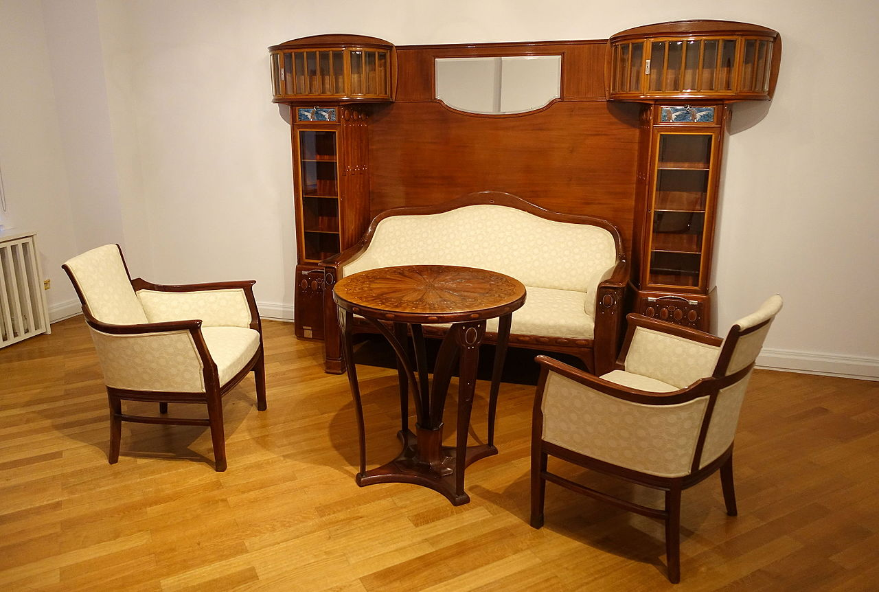 Sideboard Berlin file sofa chairs table and sideboard by alfred grenander 1904