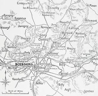 First Battle of Champagne - Soissons area, 1914–1915