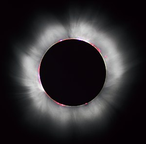 Solar eclips in 1999
