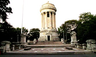 Soldiers' and Sailors' Monument (Manhattan) - The monument site in 2016