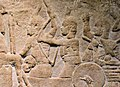 Soldiers of Taharqa defending their city from the Assyrian assault.jpg