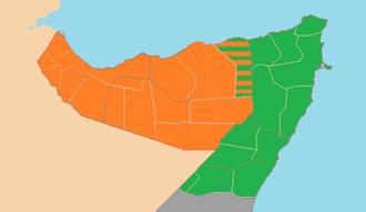Puntland–Somaliland dispute - Image: Somaliland Puntland