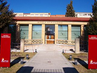 Numantine Museum of Soria cultural property in Soria, Spain