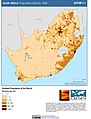 South Africa Population Density, 2000 (5457627746).jpg