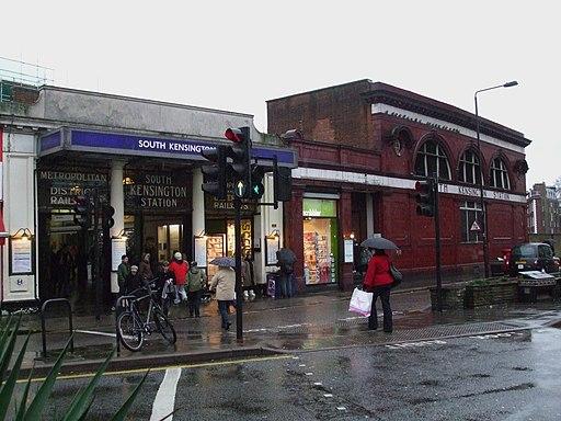 South Kensington stn south entrance
