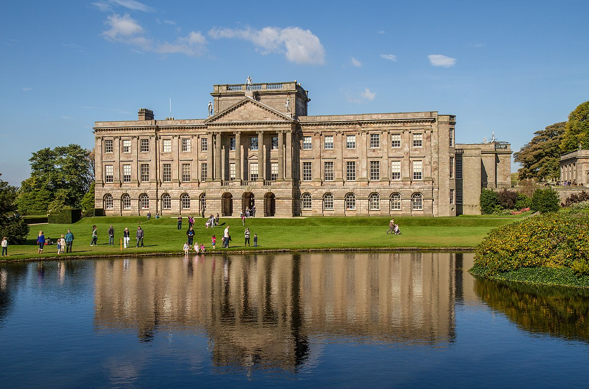 South facade of Lyme Park house, 2013.jpg