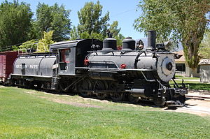 Carson and Colorado Railway - Image: Southern Pacific Engine 9
