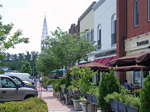 Southern Village, North Carolina - Market Street, Southern Village