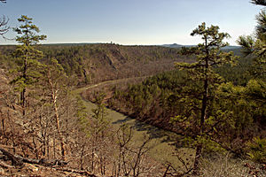 Ouachita Mountains - The South Fourche La Fave River, Ouachita Mountains, Arkansas