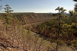 Ouachita Mountains - The South Fourche La Fave River, Ouachita Mountains, Arkansas