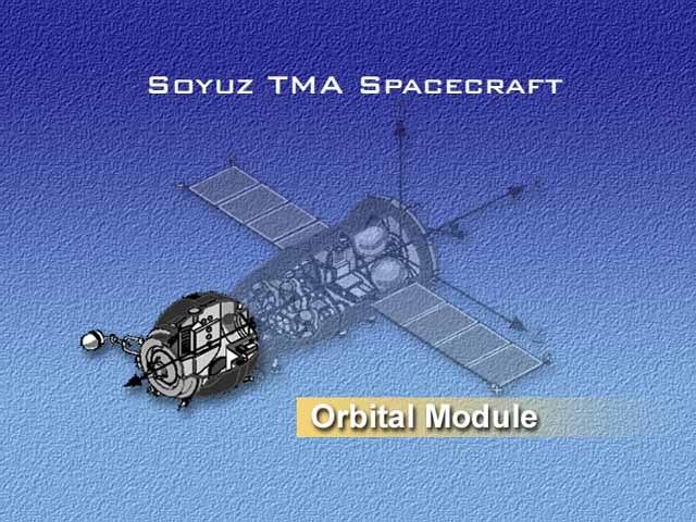 Soyuz-TMA orbital module