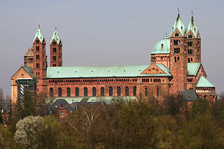 Speyer Cathedral Church in Speyer, Germany