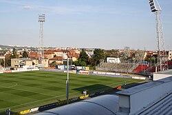 Srbská stadium overview in Brno, Brno-city District.jpg