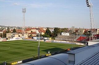 Městský fotbalový stadion Srbská football stadium