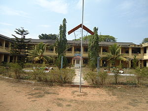 Sree Sankara College - Image: Sree Sankara College Kaladay Main Building