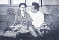 Sri Uniati and Amran Mouna in Bakar Tak Berapi Dunia Film 15 May 1955 p29.jpg