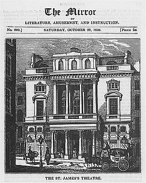 Samuel Beazley - Beazley's St James's Theatre in 1836