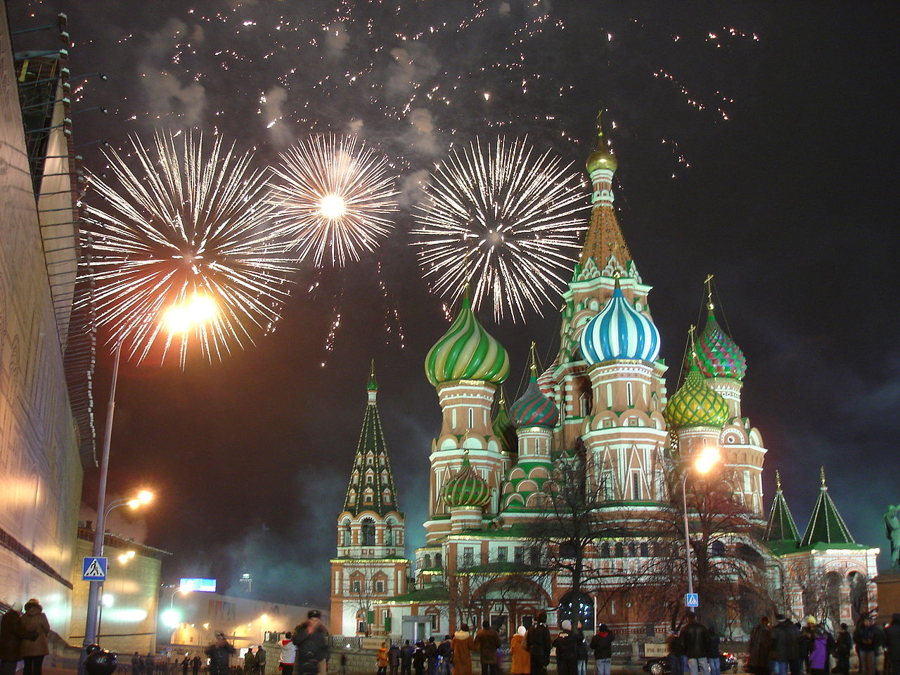10 Top Cities With The Best New Year's Eve Celebrations- Moscow red square