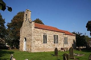 Cammeringham village in the United Kingdom