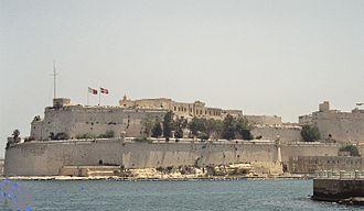 Jan Janszoon - Fort Saint Angelo in Valletta, Malta