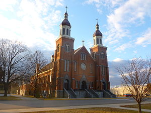 Melrose, Minnesota - St. Mary's Catholic Church, (The former St. Boniface Church)