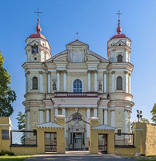 Church of St. Peter and St. Paul, Vilnius Roman Catholic church in Vilnius, Lithuania