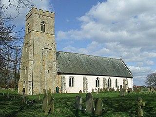 Blo Norton village in the United Kingdom