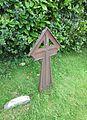 St Margaret of Antioch Church, Church Road, Fernhurst (June 2015) (Iron Grave Marker).JPG