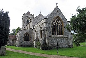Therfield - Image: St Mary, Therfield, Herts geograph.org.uk 370506