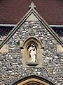 St Mary, Welwyn, Herts - Porch detail - geograph.org.uk - 377638.jpg