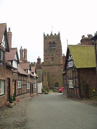 St Mary and All Saints' Church, Great Budworth - Image: St Mary and All Saints Church, Great Budworth