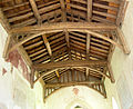 St Marys Church, Radnage, Bucks, England 15th century tie-beam roof.jpg