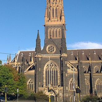St Patrick's Cathedral, Melbourne - St Patrick's Cathedral Melbourne
