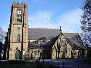 Adlington, Lancashire - Image: St Paul's CE Church, Adlington