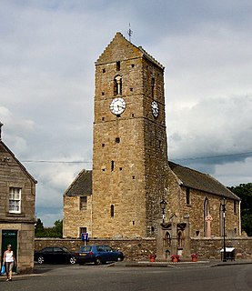 Dunning village in Perth and Kinross, Scotland, United Kingdom