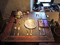 Stadtmuseum Rapperswil - Tisch mit Schieferplatte 17. Jh 2013-02-02 16-41-05 (P7700).JPG