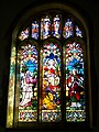 Stained glass window, St Peter's Church, Soberton - geograph.org.uk - 686084.jpg