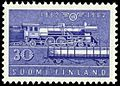 Stamp 1962 - Finnish railways 100 years - lokomotiv of 1930s.jpg