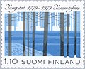 Stamp of Finland - 1979 - Colnect 46888 - Stylized Forest and Industrial Area.jpeg