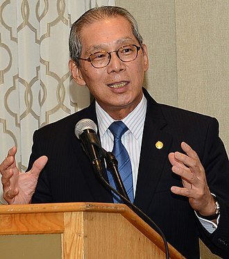 Taipei Economic and Cultural Representative Office in the United States - Stanley Kao, the incumbent ROC representative to the United States.