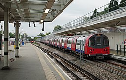 Stanmore tube station MMB 02 1996 Stock
