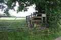 Start of a footpath - geograph.org.uk - 1415930.jpg