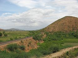 Vinukonda-Nandyal Railway Section along Nallamala Hills