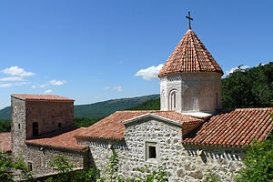 Crimea - Armenian monastery of the Holy Cross (Սուրբ Խաչ, Surb Khach), established in 1358