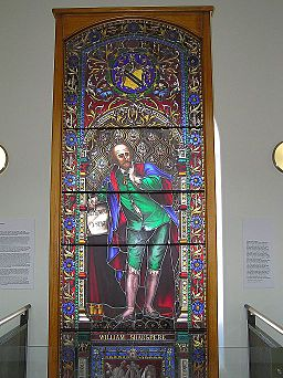 State Library of Victoria (Stained Glass of William Shakespere)