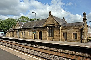 Ruabon railway station Railway station in Wrexham, Wales